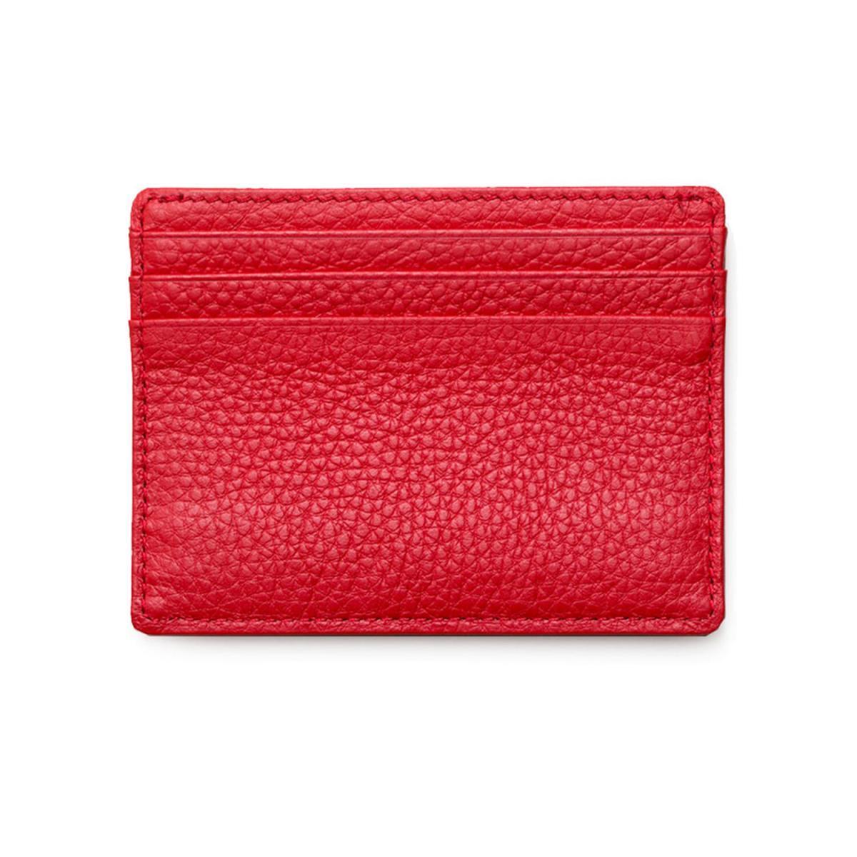 Kartenetui L | Poppy Red BACK