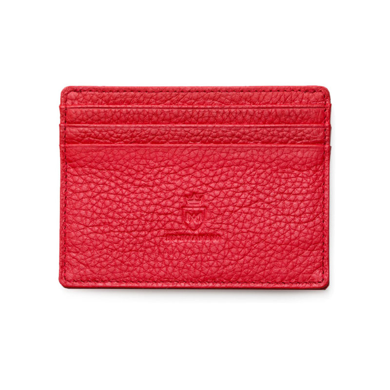 Kartenetui L | Poppy Red FRONT